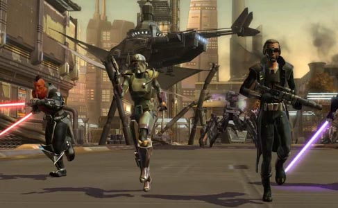 Direct from Comic-Con 2011, New SWTOR In-Game Trailer 'Join The Fight' Released