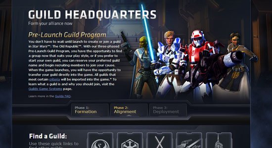 Command Decisions - Star Wars: The Old Republic Guilds Coming Into Phase 2