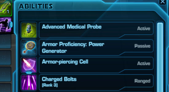 Trooper Abilities: Commando Complete List