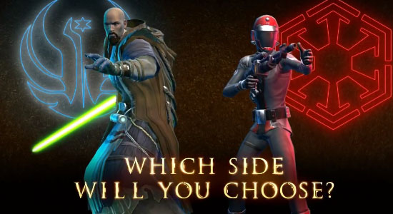 TOR Fan Friday: Choose Your Side - Imperial Agent vs. Jedi Consular